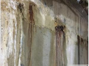 TL số 22 - Rò rỉ nước tầng hầm ảnh hưởng đến tuổi thọ công trình